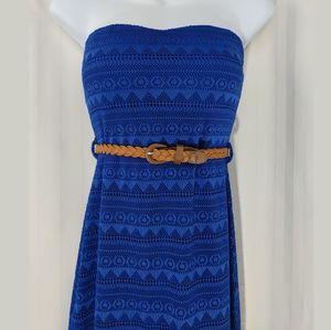 NWT Dainty Hooligan strapless maxi dress